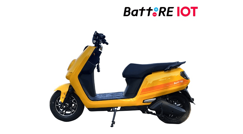 BattRE Launches An Affordable Internet Connected Electric Scooter