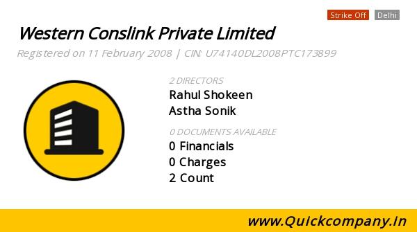 Western Conslink Pvt Ltd